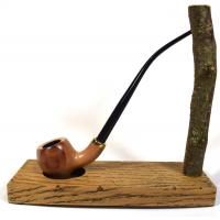 Mr Brog Amphora 309 Metal Filter Fishtail Churchwarden Pipe (MB1009)