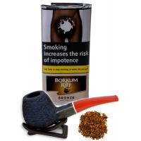 Borkum Riff Bronze (Formerly Bourbon Whiskey) Pipe Tobacco 50g Pouch