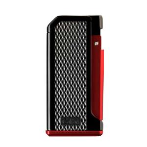 Colibri Monza Single Jet Lighter - Red